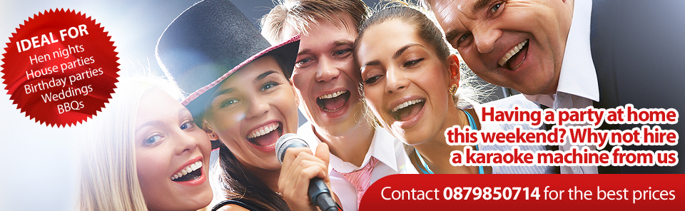 Karaoke Hire Cork, Limerick, Kerry and Waterford